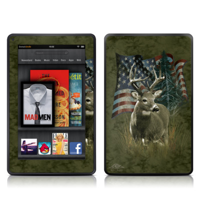 Kindle Fire Skin - Deer Flag