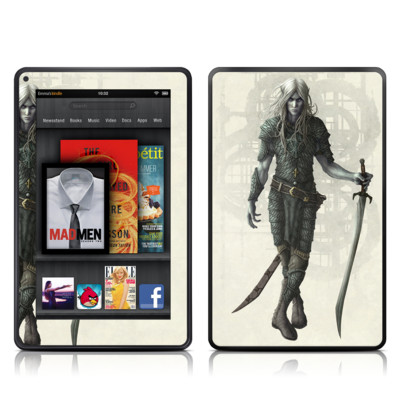 Kindle Fire Skin - Dark Elf