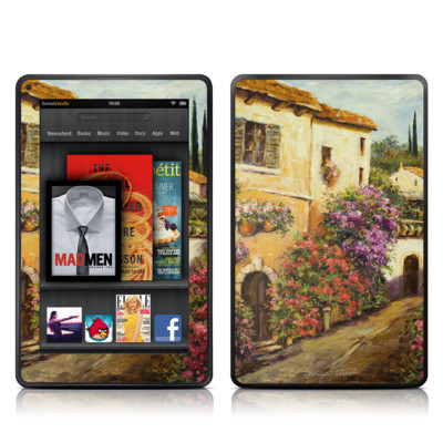 Kindle Fire Skin - Via Del Fiori