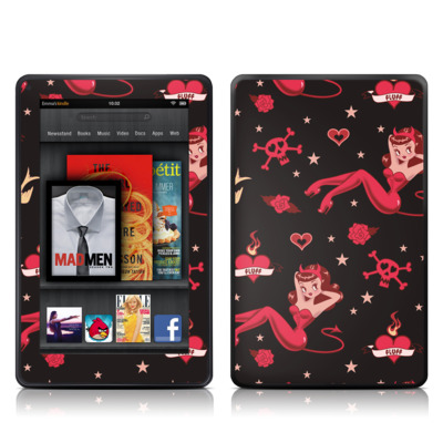 Kindle Fire Skin - Devilette