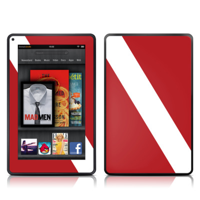 Kindle Fire Skin - Diver Down
