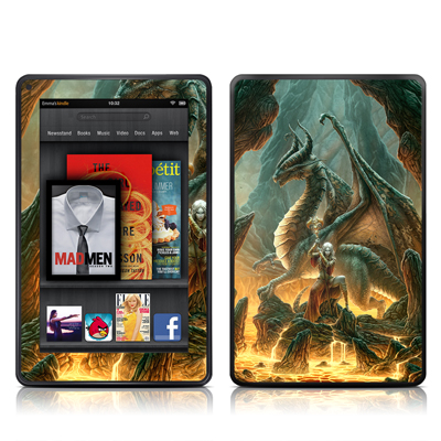 Kindle Fire Skin - Dragon Mage