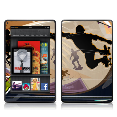 Kindle Fire Skin - Dogtown