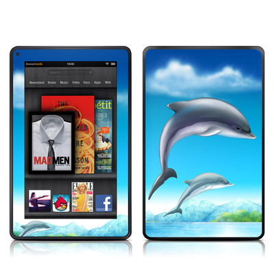 Kindle Fire Skin - Dolphins