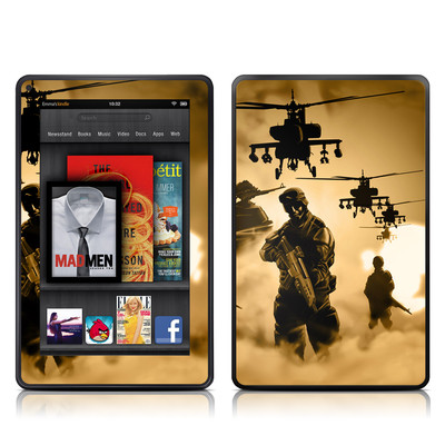 Kindle Fire Skin - Desert Ops