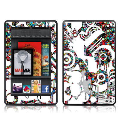 Kindle Fire Skin - Dots