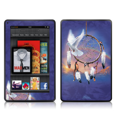 Kindle Fire Skin - Dove Dreamer