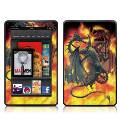 Kindle Fire Skin - Dragon Wars