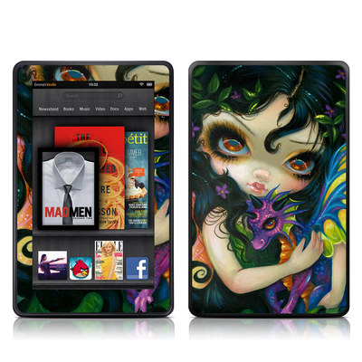 Kindle Fire Skin - Dragonling Child