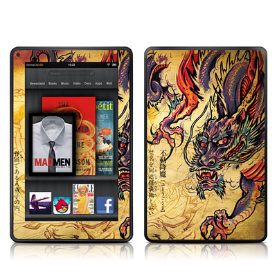 Kindle Fire Skin - Dragon Legend
