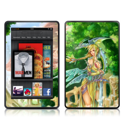 Kindle Fire Skin - Dragonlore