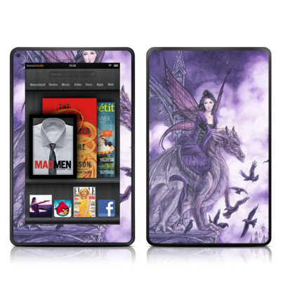 Kindle Fire Skin - Dragon Sentinel