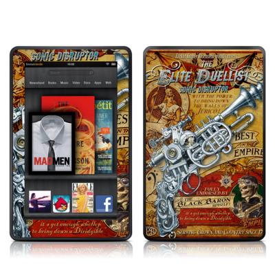 Kindle Fire Skin - The Duelist
