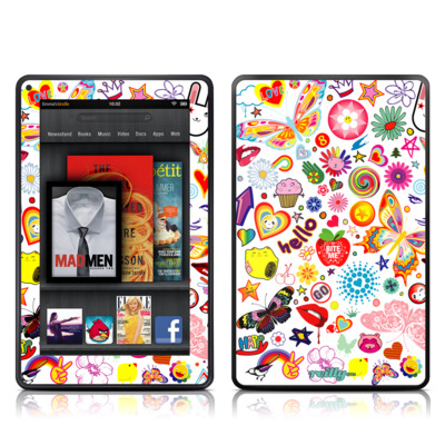 Kindle Fire Skin - Eye Candy