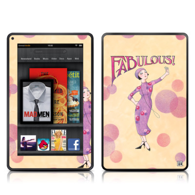 Kindle Fire Skin - Fabulous