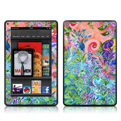 Kindle Fire Skin - Fantasy Garden