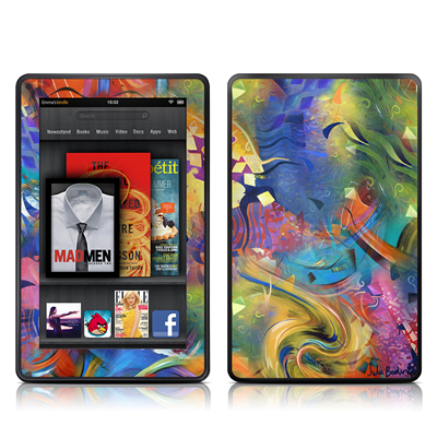 Kindle Fire Skin - Fascination