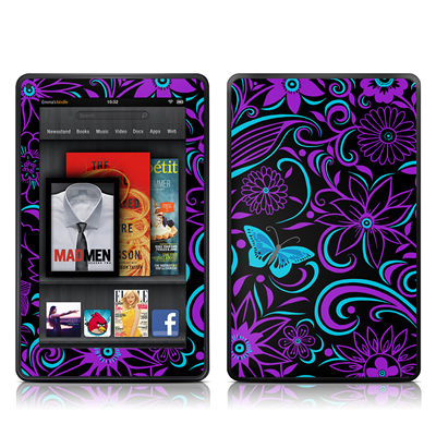 Kindle Fire Skin - Fascinating Surprise
