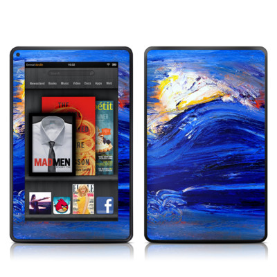 Kindle Fire Skin - Feeling Blue