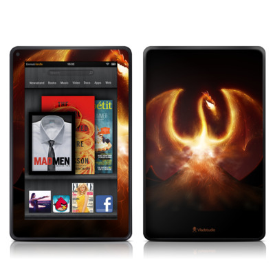 Kindle Fire Skin - Fire Dragon