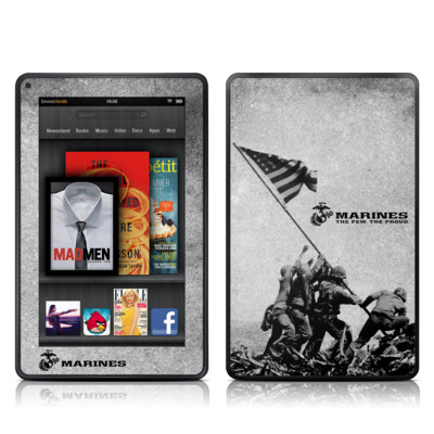 Kindle Fire Skin - Flag Raise