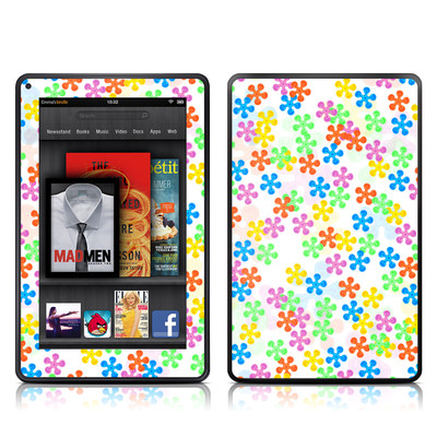 Kindle Fire Skin - Flower Power
