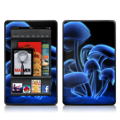 Kindle Fire Skin - Fluorescence Blue