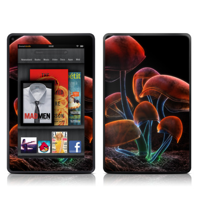 Kindle Fire Skin - Fluorescence Rainbow