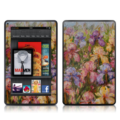 Kindle Fire Skin - Field Of Irises
