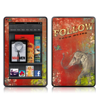 Kindle Fire Skin - Follow Your Bliss