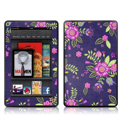 Kindle Fire Skin - Folk Floral