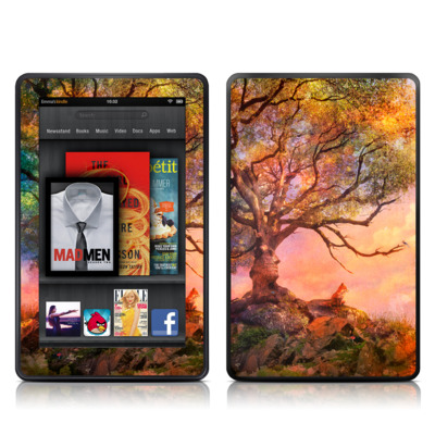 Kindle Fire Skin - Fox Sunset