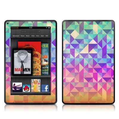 Kindle Fire Skin - Fragments