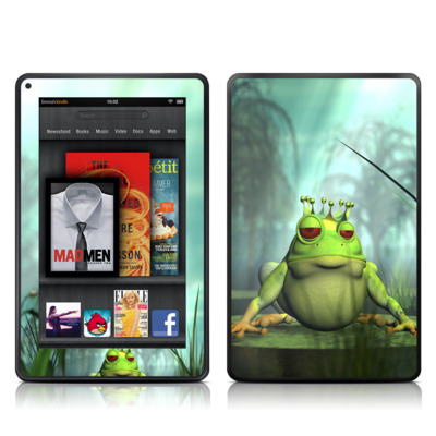 Kindle Fire Skin - Frog Prince