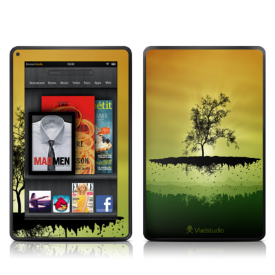 Kindle Fire Skin - Flying Tree Amber