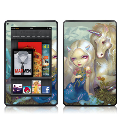 Kindle Fire Skin - Fiona Unicorn