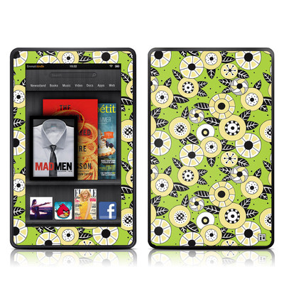 Kindle Fire Skin - Funky