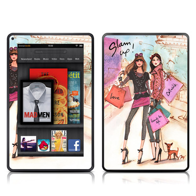 Kindle Fire Skin - Gallaria