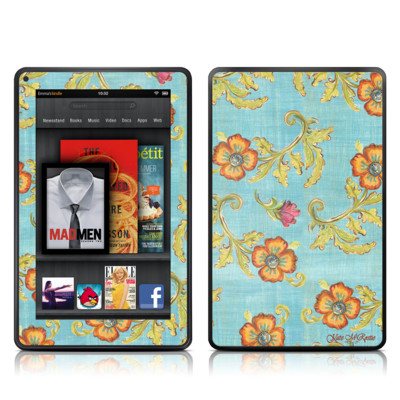 Kindle Fire Skin - Garden Jewel