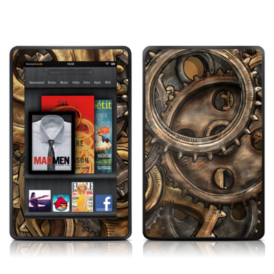 Kindle Fire Skin - Gears