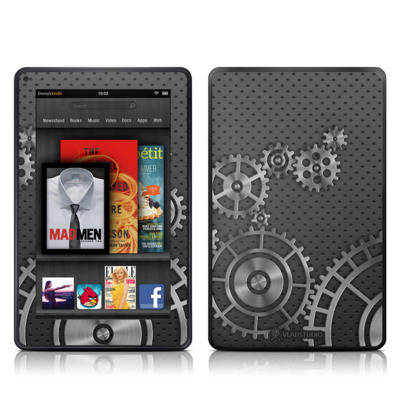 Kindle Fire Skin - Gear Wheel