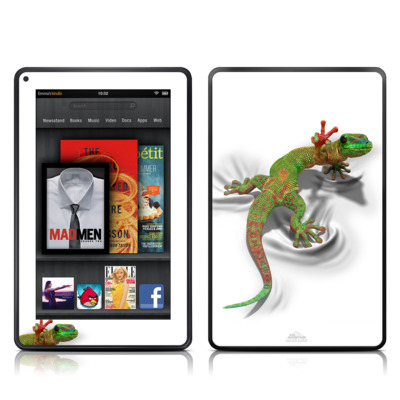 Kindle Fire Skin - Gecko