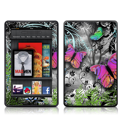 Kindle Fire Skin - Goth Forest