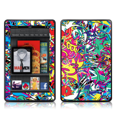 Kindle Fire Skin - Graf