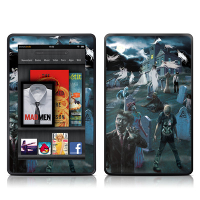 Kindle Fire Skin - Graveyard