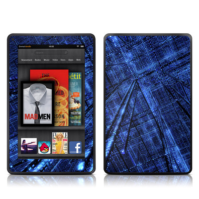 Kindle Fire Skin - Grid