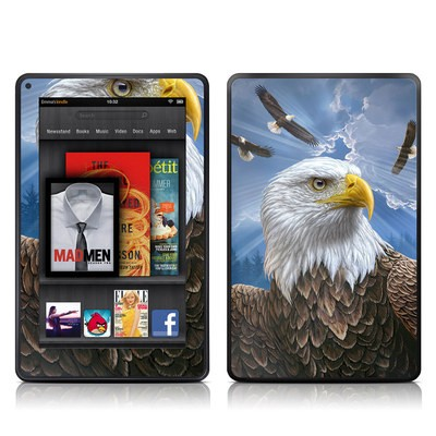 Kindle Fire Skin - Guardian Eagle