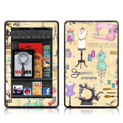 Kindle Fire Skin - Haberdashery