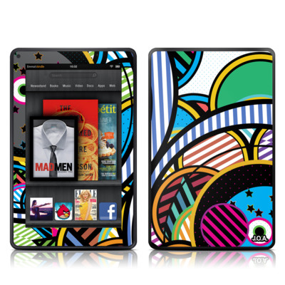 Kindle Fire Skin - Hula Hoops