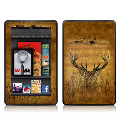 Kindle Fire Skin - Hiding Buck